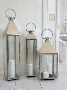 Floor Lanterns Big Stainless Steel Lantern Xl The Floor