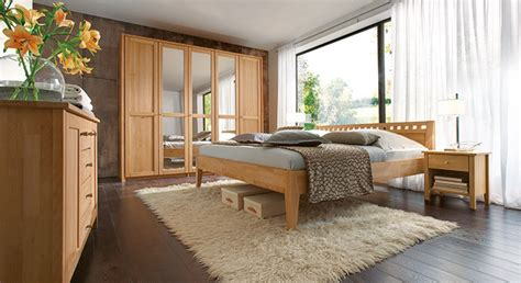 einzelschlafzimmer komplett komplett schlafzimmer aus massiver buche triest i betten de