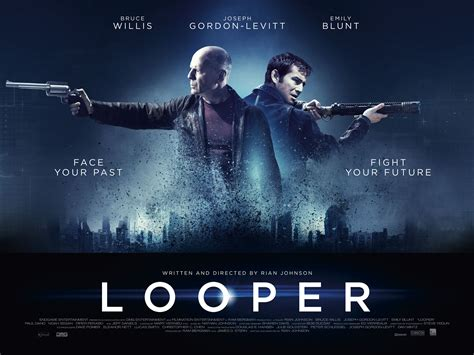film action blue looper images looper movie poster hd wallpaper and