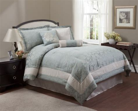 light blue and white comforters and bedding sets