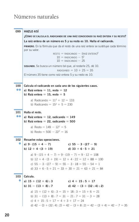 raiz cuadrada de 108 solucionario1 santillana