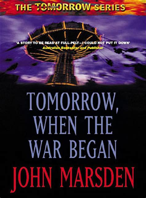 tomorrow the books tomorrow when the war began book series