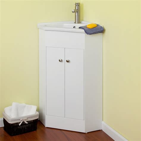 23 quot holbrook corner vanity white bathroom vanities