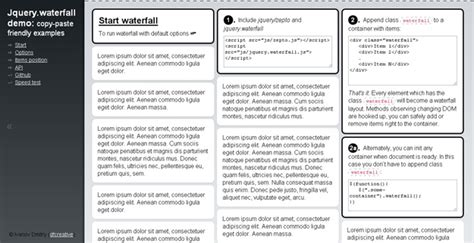 lightweight responsive pinterest layout with jquery waterfall 40 best jquery grid plugins jqueryhouse