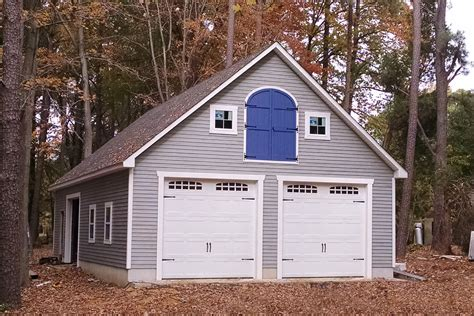 build a two car garage prefab garages with attic loft space two car garages amish