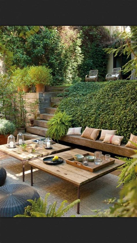 Terraced Patio Designs Best 25 Terraced Backyard Ideas On Sloped Backyard Gogo Papa