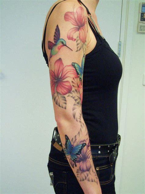 hibiscus quarter sleeve tattoo image result for forearm tattoos for women shoo shoo