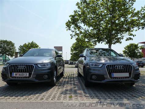 Vergleichstest Audi Q3 by Audi4ever A4e Detail A4e Vergleichstest Audi