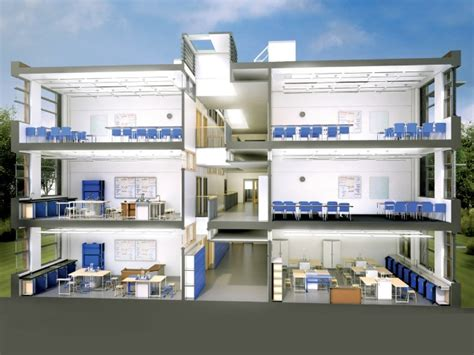 layout of building baseline efa design
