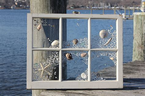 shabby chic beach windows by beachdesignsbycaroli on etsy