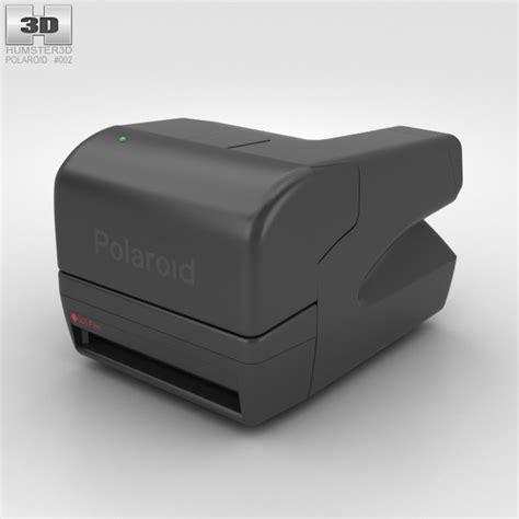 polaroid one step polaroid onestep 600 3d model hum3d
