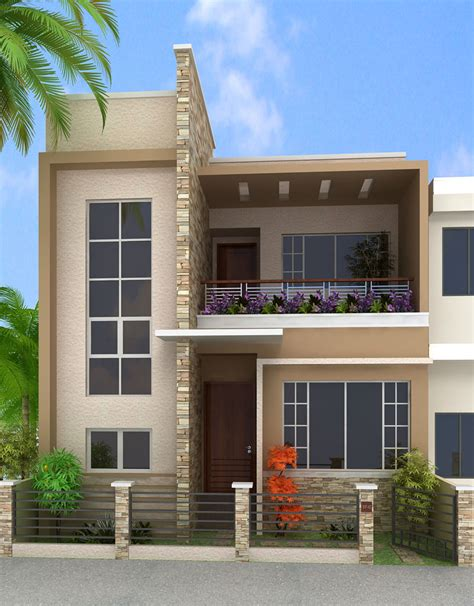 box type modern house design studio design