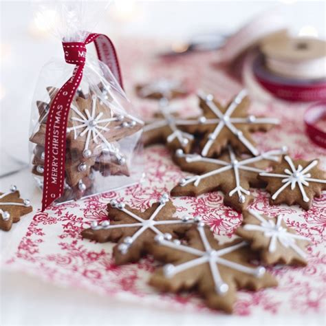 edible christmas gift recipes iced and spiced biscuits woman and home