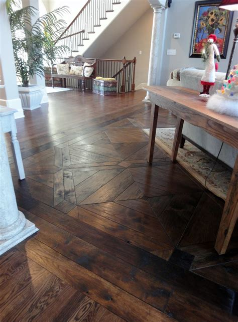 Custom Designer Hardwood Floors Gallery   SVB Wood Floors