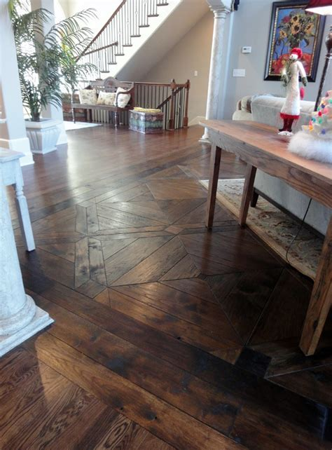 Custom Designer Hardwood Floors Gallery   SVB Wood Floors