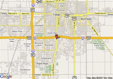 map of fargo nd fargo map my