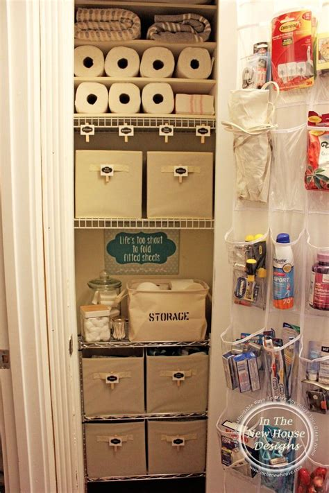 bathroom linen closet organization ideas small linen closet organization small linen closets