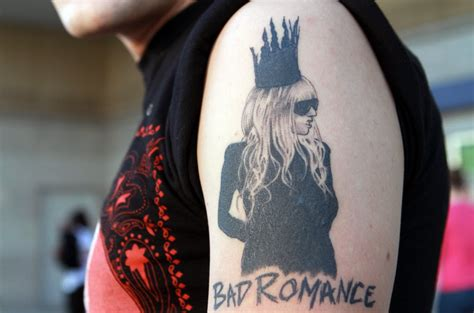 lady gaga tattoos bad gaga busbones