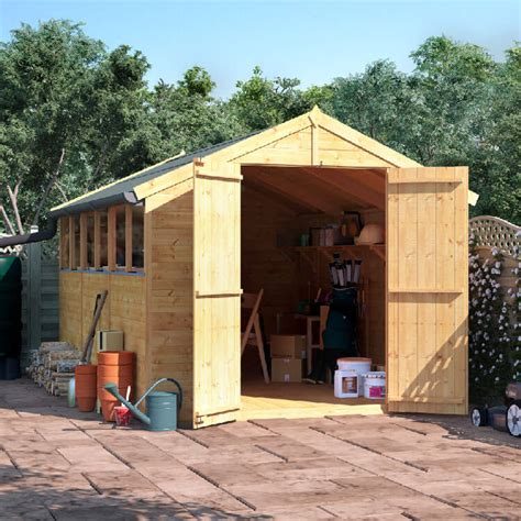 Garden Shed 12x8 by Billyoh 12x8 Master Tongue And Groove Apex Windowed