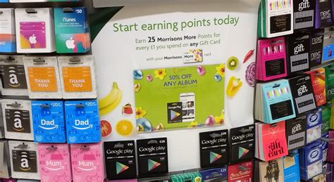 Morrisons Gift Cards - buy a 163 10 google play gift card and get 50 off any album morrison s instore