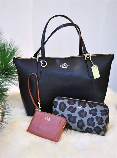 Handbag Giveaway - 3 coach bags 7 beauty faves fall classics giveaway love maegan
