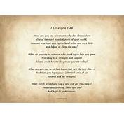 Father Day Poems From Daughter Deceased