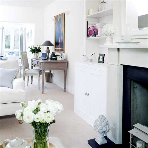 home office in living room ideas white traditional living room ideas 2011 designer news