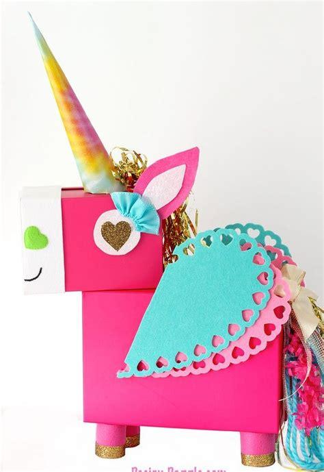 valentines card holder unicorn card holder hometalk