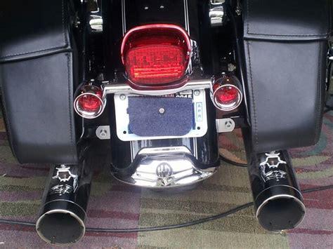 sportster light turn signal combination road king rear turn signal bar eliminator harley