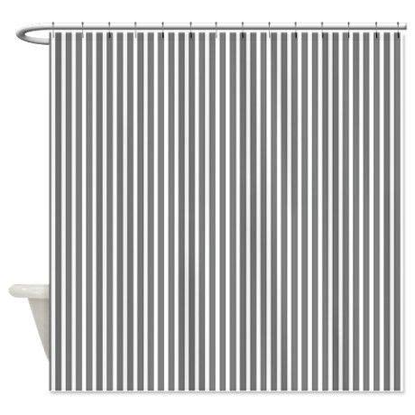 pinstripe shower curtain gray pinstripe shower curtain on