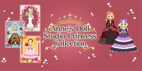 w w w lmage princess swaziland com anne s doll studio princess collection nintendo dsiware