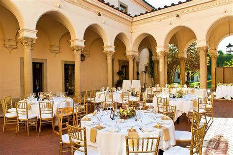 wedding reception venues near pasadena ca athenaeum caltech pasadena wedding venues