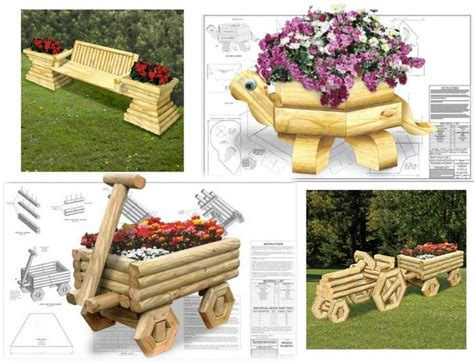 Landscape Timber Basket Planter Plans Free 17 Best Images About Landscaping Timber Projects On