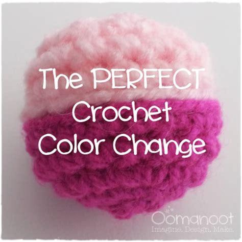 how to change color in crochet the crochet color change oomanoot