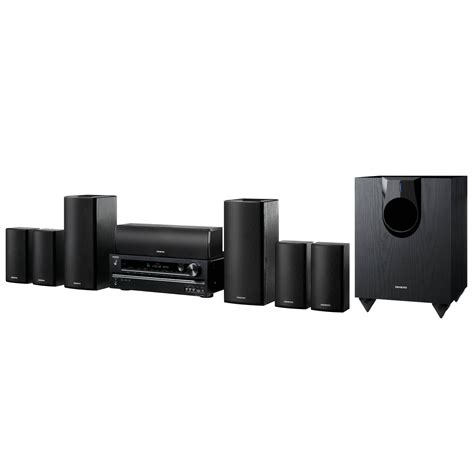 onkyo ht s5400 7 1 home theater system ht s5400q b h photo