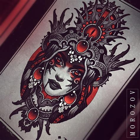 black magic tattoo designs vitaly morozov designs
