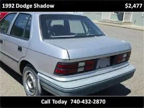 best car repair manuals 1992 dodge shadow auto manual service manual how to remove radio 1992 dodge shadow 1992 dodge shadow photos informations