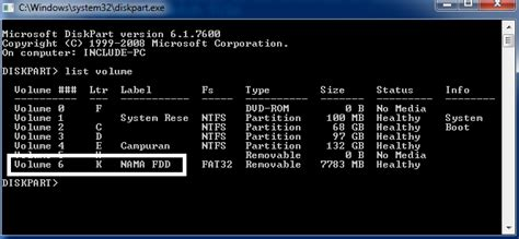 cara format flash disk command prompt tips mudah format flashdisk lewat cmd command prompt