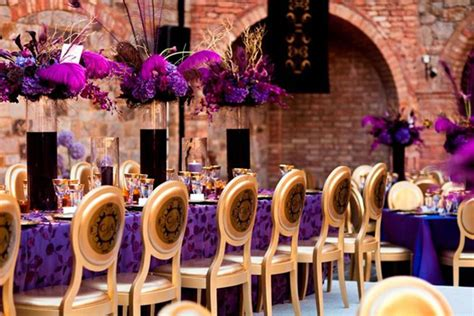 purple and gold decorations wedding inspiration stunning purple gold decor