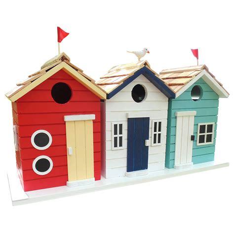 charles bentley beach hut birdhouse buydirect4u