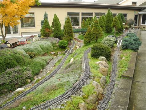 G Scale Garden Railway Layouts 1000 Images About Garden Railroading On Pinterest Garden Railroad Scale Model And Model