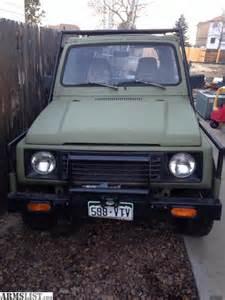 1989 Suzuki Sidekick For Sale Armslist For Sale Trade 1989 Suzuki Samurai