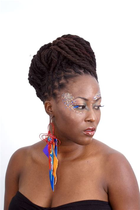 black women with dreadlocks hairstyles 349 best images about luscious locz updo i on pinterest