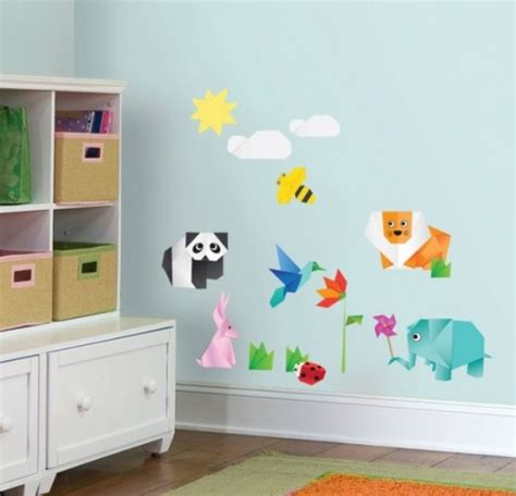 kids room decoration 20 origami decor ideas for a kids room kidsomania