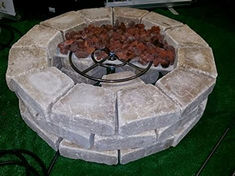 Propane Firepit Kit Create Convert Your Wood Pit To Propane Diy Propane Pit Kits Basic And Deluxe