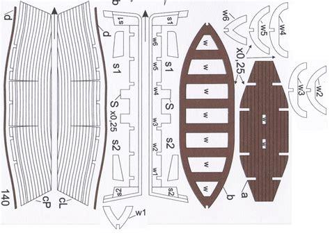 Wood Boat Model Plans