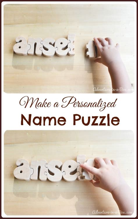 personalized custom photo puzzles made to order the how to make a personalized name puzzle