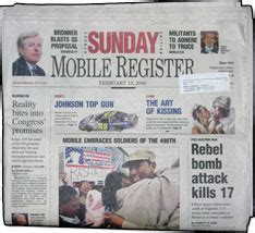 Mobile Press Register The Mobile Press Register Is In The