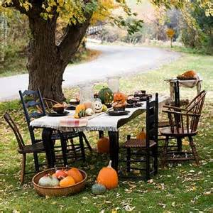 how to plan a backyard party how to host a fall backyard party better homes and gardens real estate life