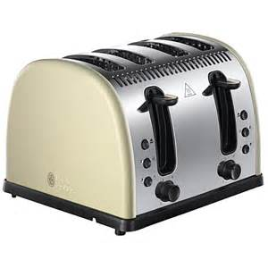Russell Hobbs Colours Toaster Russell Hobbs Legacy 4 Slice Toaster Various Colours